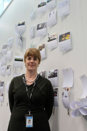 Carolyn Robertson of Christchurch City Libraries, New Zealand