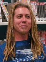 Artist, author and comic book creator Steve Malley