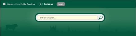 Herefordshire website