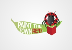 Paint the Town REaD's Reading Bug