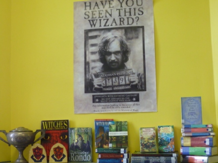 Have You Seen This Wizard? Sirius Black at Parkes High School Library