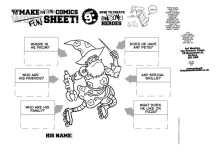 Neill's HOW TO CREATE AWESOME HEROES Activity Sheet
