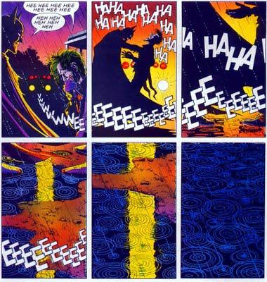 Final frames from Batman - The Killing Joke