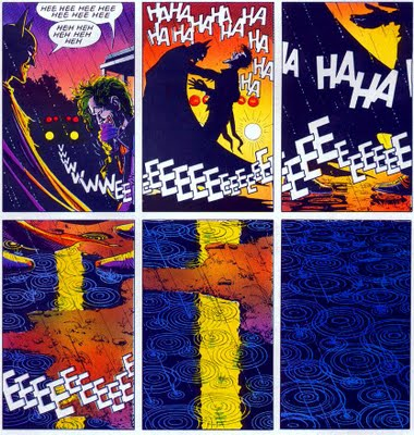 Final frames from Batman - The Killing Joke