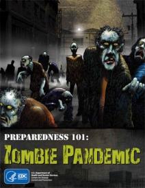 Preparedness 101: Zombie Pandemic comic from CDC