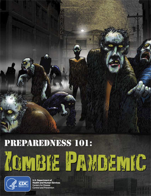 Preparedness 101: Zombie Pandemic comic from CDC