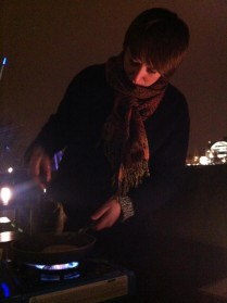 Pancakes on London's South Bank!