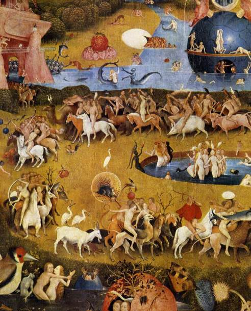 Hieronymous Bosch, The Garden of Earthly Delights
