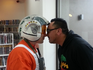 A hongi with the Rebel Alliance