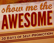 Show Me the Awesome Banner by John LeMasney at lemasney.com.