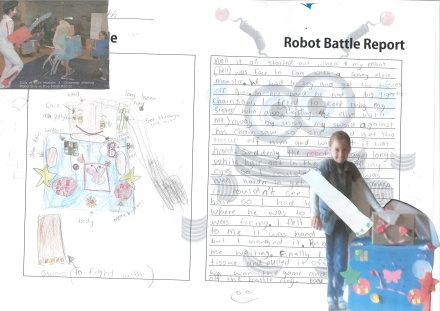 Robot write-up