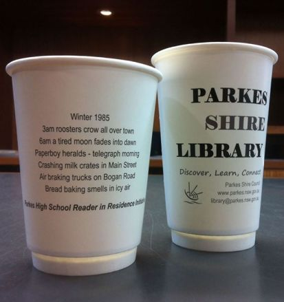 Parkes Library Coffee Cups