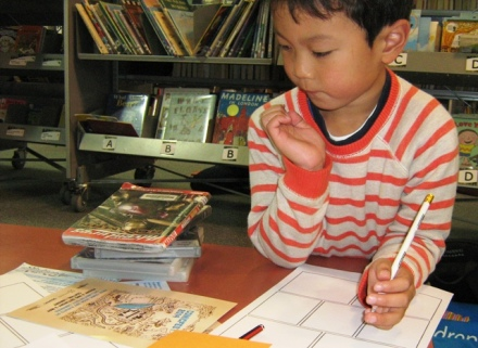Young Comic Writer at Wellington City Libraries