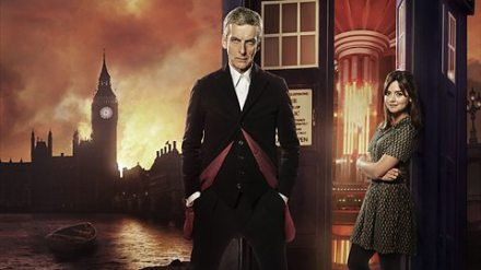 The twelfth Doctor and Clara