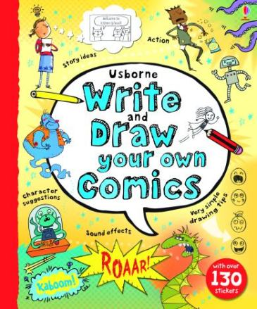 Usborne Write and Draw Your Own Comics by Louie Stowell