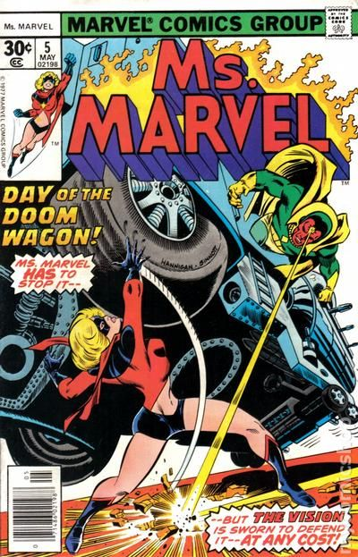 Ms Marvel #5 - Day of the Doom Wagon