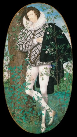 "Robert Hilliard, ""Young Man Amongst Roses"""