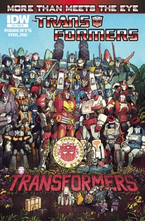 Transformers: More Than Meets The Eye Sergeant Pepper-style cover