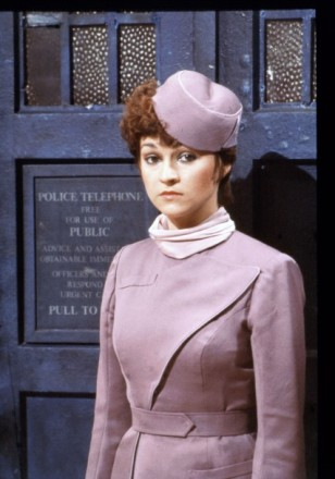 Tegan Jovanka from DOCTOR WHO