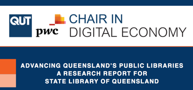 Advancing Queensland's Public Libraries report cover