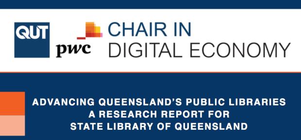 Advancing Queensland's Public Libraries report cover