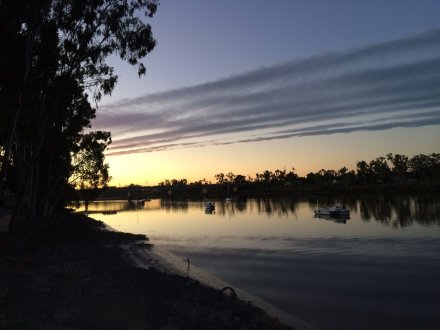 Rockhampton riverside, Central Queensland
