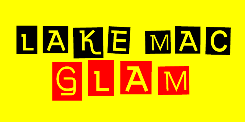 Lake Mac Glam logo