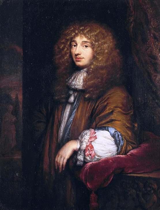 Caspar Netscher's Portrait of Christiaan Huygens