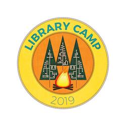 Logo for Library Camp 2019