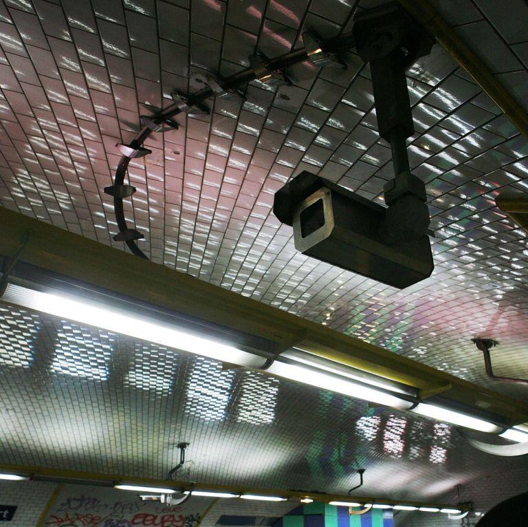 Paris Metro CCTV